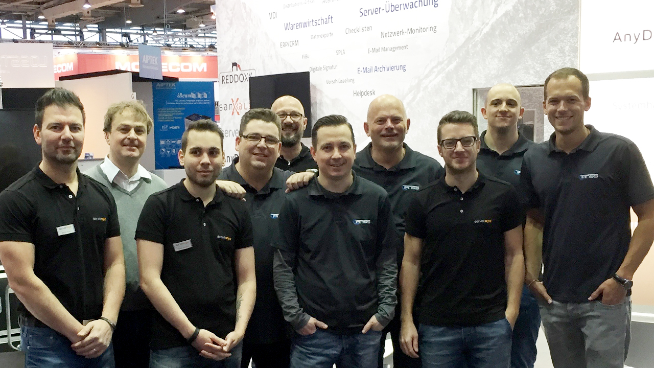 CeBIT TANSS-Team